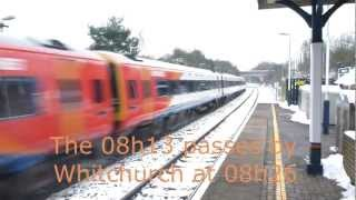 getlinkyoutube.com-SouthWest Trains chooses to have late train bypass Whitchurch, Hampshire