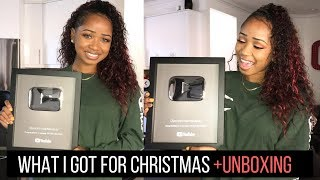 WHAT I GOT FOR CHRISTMAS 2017 + SILVER PLAY BUTTON UNBOXING