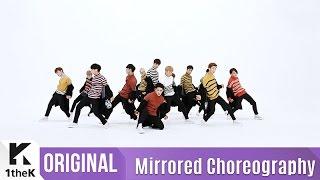 getlinkyoutube.com-[Mirrored] SEVENTEEN(세븐틴)_BOOMBOOM Choreography(붐붐) 거울모드 안무영상)_1theK Dance Cover Contest