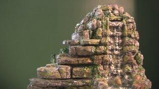 getlinkyoutube.com-How to Make a Tabletop Waterfall
