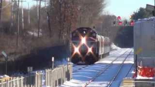 getlinkyoutube.com-Leominster: MBTA Commuter Train 1137*, To Fitchburg, Then Boston @ Leominster Station