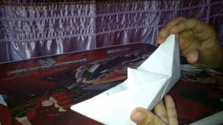 getlinkyoutube.com-كيف تصنع قارب من الورق how to make boat with paper
