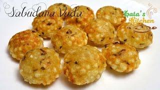 getlinkyoutube.com-Sabudana Vada Recipe in Appam Pan — Indian Vegetarian Snack in Hindi with English Subtitles