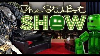 getlinkyoutube.com-The Stikbot Show   The one with Alien vs. Predator