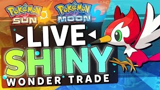 getlinkyoutube.com-Pokemon Sun and Moon LIVE SHINY Wonder Trade Reaction!