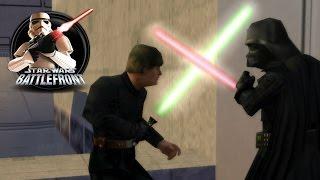 getlinkyoutube.com-Star Wars Battlefront 1 Mods (PC) HD: Jedi Mod 2.0 - Bespin: Cloud City   Galactic Civil War