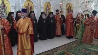 Предстоятель Болгарской Церкви совершил молебен в храме резиденции Патриарха Московского и всея Руси