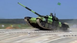 getlinkyoutube.com-Video shows new Russian tank in action
