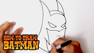 getlinkyoutube.com-How to Draw Batman - Step by Step Video Lesson