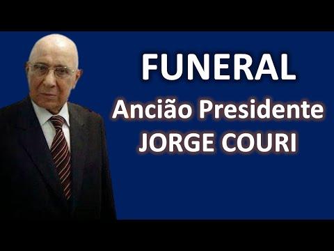 Funeral do ANCIAO JORGE COURI da CCB (resumo)