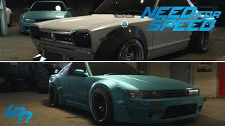 getlinkyoutube.com-NEED FOR SPEED (2015) - EXKLUSIVE CUSTOMIZATION / TUNING GAMEPLAY - 5 DIFFERENT CARS