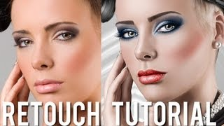 getlinkyoutube.com-Beauty Retouching & Painting Effects Photoshop turorial