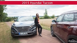 getlinkyoutube.com-Fahrbericht: 2015 Hyundai Tucson 2.0 CRDi