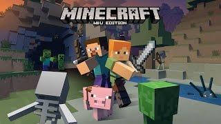 getlinkyoutube.com-Minecraft : Wii U Edition Gameplay - Early Access