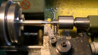 getlinkyoutube.com-How to make a pen with a Proxxon PD 230