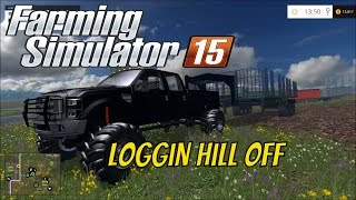 getlinkyoutube.com-Farming simulator 2015 Tiger cat log skidder and more
