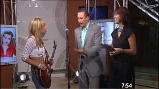 getlinkyoutube.com-Orianthi First Ever (2006) Live Australian TV & Santana's Praise