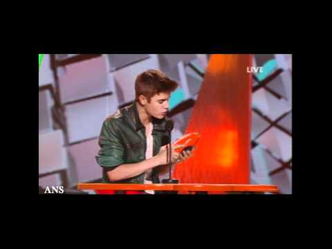 KIDS CHOICE AWARDS ABOUT THE SLIME, JUSTIN BIEBER, MICHELLE OBAMA