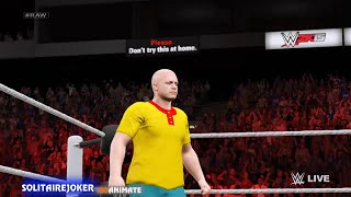 getlinkyoutube.com-Caillou becomes a wrestler and gets dunked on