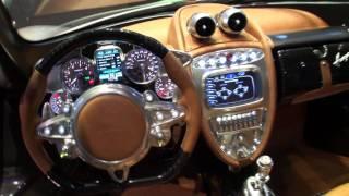 Pagani Huayra vs Koenigsegg Agera R instrumentcluster