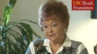 Jewish Survivor Gloria Lyon Testimony Part 1
