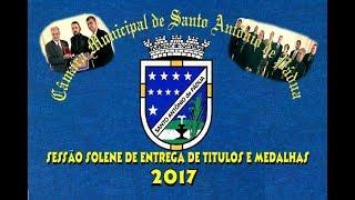 Sessão Solene Entrega de Títulos e Medalhas-2017