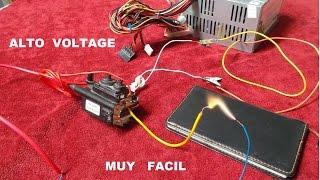 getlinkyoutube.com-Fuente Alto Voltaje Tutorial ( Con Flayback ). Source High Voltage Tutorial (With Flyback).