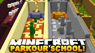 getlinkyoutube.com-Minecraft PARKOUR SCHOOL! (36 Stages of Parkour!) | w/ PrestonPlayz & LandonMC