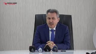 Vali Süleyman Elban: Ağrı'da Koronavirus salgınından Ölen Yok