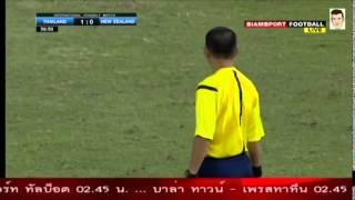 getlinkyoutube.com-คลิปไฮไลท์อุ่นเครื่อง ทีมชาติไทย 2-0 นิวซีแลนด์ Thailand 2-0 New Zealand