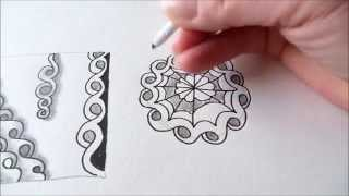 getlinkyoutube.com-How to draw tanglepattern Shnek