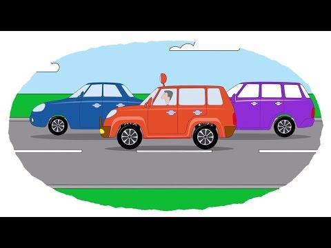 Zeichentrick-Malbuch - Alle Autos