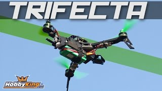 getlinkyoutube.com-Quanum Trifecta Mini Foldable Tricopter Frame - HobbyKing Product Video