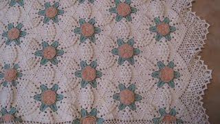 getlinkyoutube.com-Crochet Patterns| for free |Crochet Baby Blanket| 589