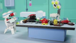 getlinkyoutube.com-Strange Medix Mixels experiment creates new Mixels Max - LEGO Mixels - Stop Motion