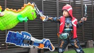getlinkyoutube.com-仮面ライダー ゴースト おもちゃ 変身ベルト 戦いごっこ DXゴーストドライバー DXガンガンセイバー  グーパー拳銃 DXガンガンハンド 剣 Kamen Rider Ghost Toy