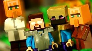 getlinkyoutube.com-Кока Все Серии - Мультики Лего Майнкрафт для Детей. Lego Minecraft Survival Animation for KIDS