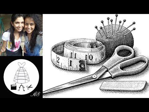Como tirar  medidas corporais - costura e modelagem por Alana Santos Blogger