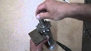 getlinkyoutube.com-Шпиндель для самодельного станка. Spindle machine for wood.