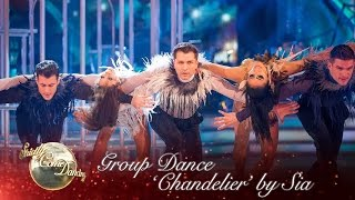 getlinkyoutube.com-The Strictly pro-dancers perform a routine to 'Chandelier' by Sia - Strictly Come Dancing 2016