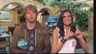 getlinkyoutube.com-NCIS LA Stars Daniela Ruah & Eric Christian Olsen Preview Tonight's Episode