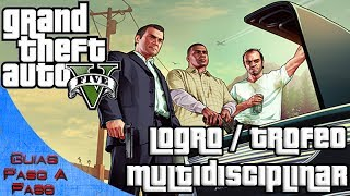 getlinkyoutube.com-Grand Theft Auto V   Logro / Trofeo: Multidisciplinar