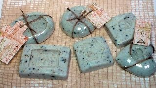 getlinkyoutube.com-DIY embossed soap with rubber stamps