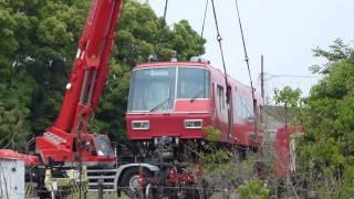 getlinkyoutube.com-名鉄5300系 廃車回送 東名古屋港 名電築港