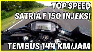 Top Speed All New Satria F 150 Injeksi Terbaru