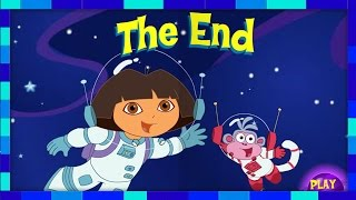 getlinkyoutube.com-Dora And Boots Space Adventure Games - Doras Purple Planet Adventure