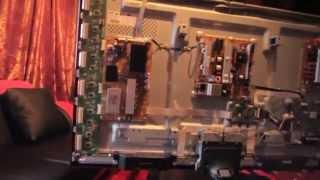 "getlinkyoutube.com-Help fix my Samsung 50"" plasma TV! horizontal  lines"
