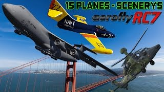 getlinkyoutube.com-Aerofly RC 7 Ultimate Edition - 15 Planes & Scenerys PC HD