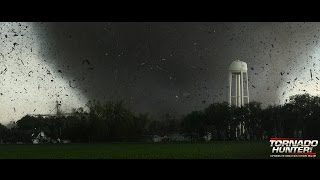 getlinkyoutube.com-Town gets hit by monster tornado! Twin Tornadoes!