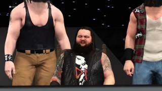 getlinkyoutube.com-WWE 2K16: The Wyatt family entrance with Braun Strowman.